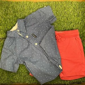 Matching set / 12 Months  (USED)